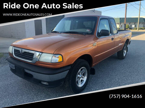 2000 Mazda B-Series Pickup for sale at Ride One Auto Sales in Norfolk VA