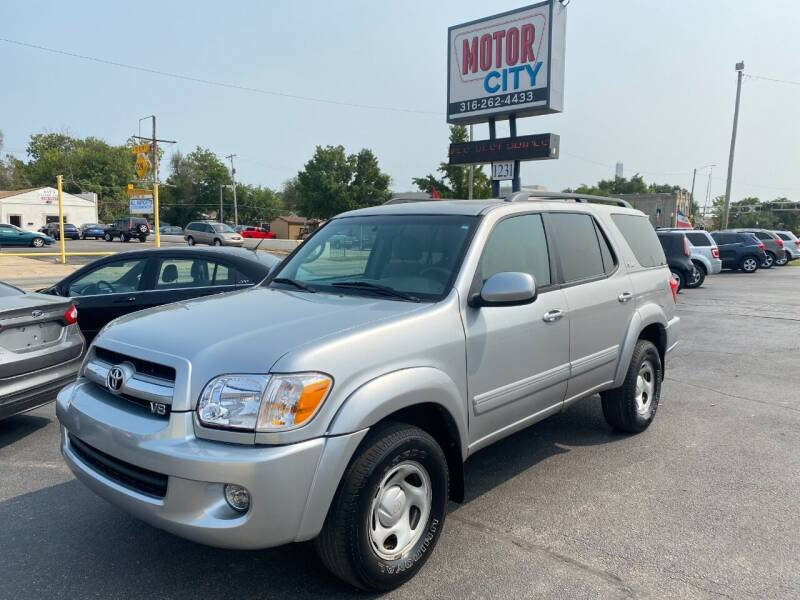 2005 Toyota Sequoia for sale at Motor City Sales in Wichita KS