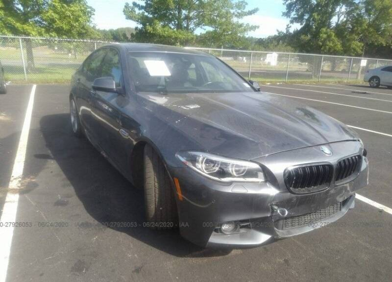 2016 BMW 5 Series for sale at MIKE'S AUTO in Orange NJ