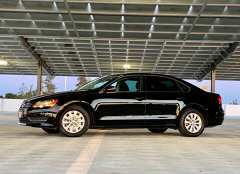 2012 Volkswagen Passat for sale at Car Hero LLC in Santa Clara CA
