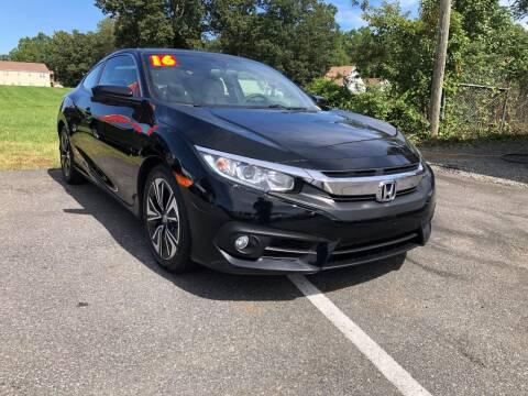 2016 Honda Civic for sale at 4Auto Sales, Inc. in Fredericksburg VA