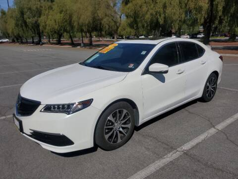 2016 Acura TLX for sale at ALL CREDIT AUTO SALES in San Jose CA