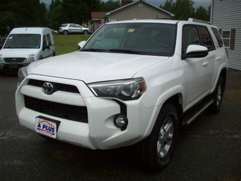2015 Toyota 4Runner for sale at A-Plus Motors in Alton ME