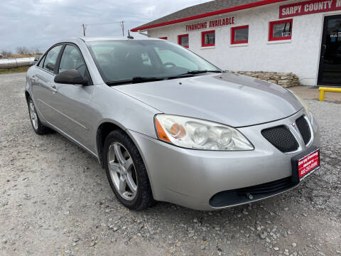 2008 Pontiac G6 for sale at Sarpy County Motors in Springfield NE