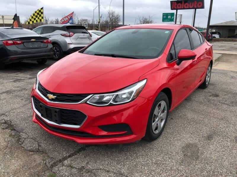 2017 Chevrolet Cruze for sale at Ital Auto in Oklahoma City OK