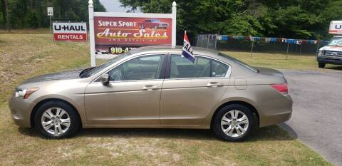 2009 Honda Accord for sale at Super Sport Auto Sales in Hope Mills NC