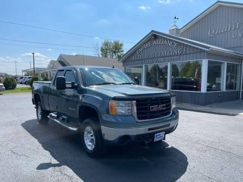 2010 GMC Sierra 2500HD for sale at Empire Alliance Inc. in West Coxsackie NY