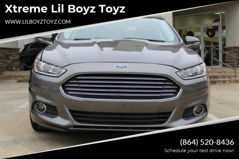 2013 Ford Fusion for sale at Xtreme Lil Boyz Toyz in Greenville SC
