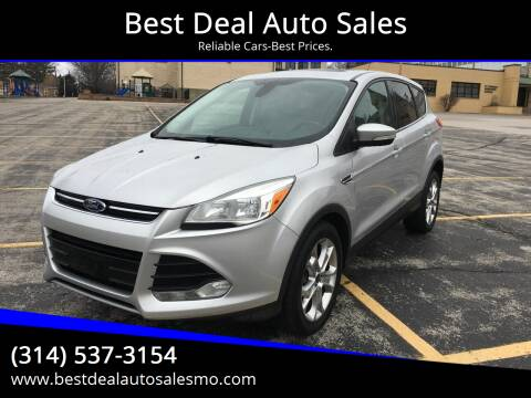 2013 Ford Escape for sale at Best Deal Auto Sales in Saint Charles MO