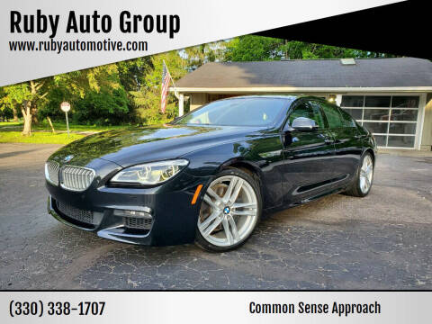 2016 BMW 6 Series for sale at Ruby Auto Group in Hudson OH