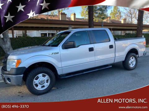 2014 Ford F-150 for sale at Allen Motors, Inc. in Thousand Oaks CA
