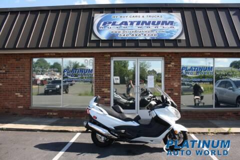 2017 Suzuki Burgman for sale at Platinum Auto World in Fredericksburg VA
