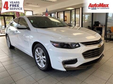 2018 Chevrolet Malibu for sale at Auto Max in Hollywood FL