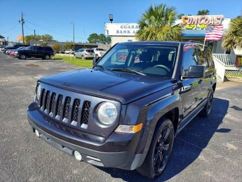 2015 Jeep Patriot for sale at Sun Coast City Auto Sales in Mobile AL