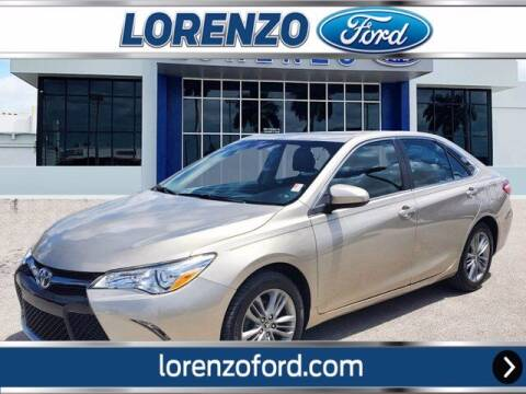 2015 Toyota Camry for sale at Lorenzo Ford in Homestead FL