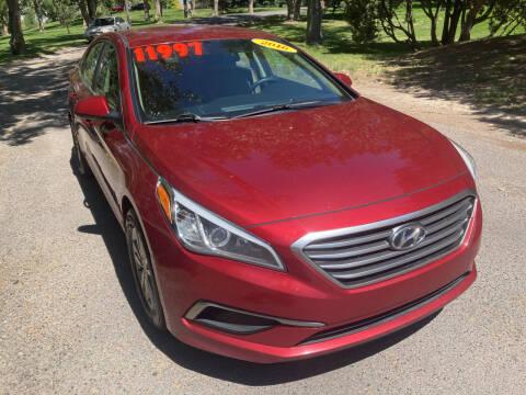 2016 Hyundai Sonata for sale at BELOW BOOK AUTO SALES in Idaho Falls ID