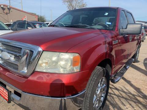 2008 Ford F-150 for sale at FAIR DEAL AUTO SALES INC in Houston TX