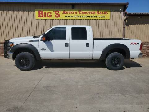2014 Ford F-250 Super Duty for sale at BIG 'S' AUTO & TRACTOR SALES in Blanchard OK