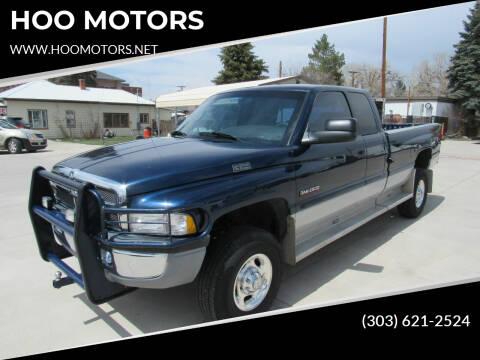 2001 Dodge Ram Pickup 2500 for sale at HOO MOTORS in Kiowa CO