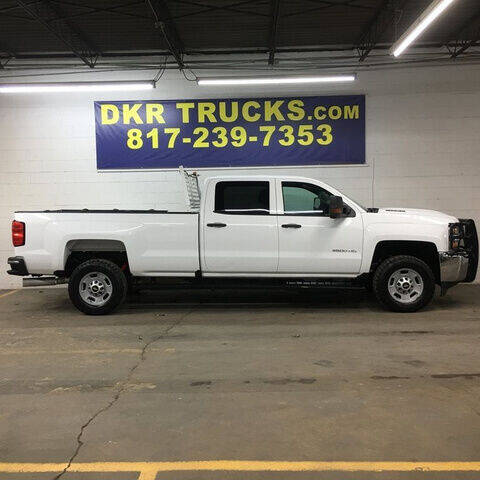 2017 Chevrolet Silverado 2500HD for sale at DKR Trucks in Arlington TX