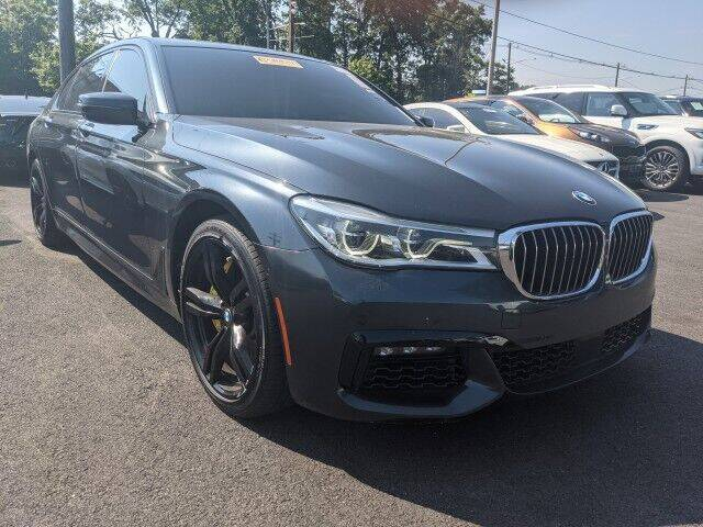 2016 BMW 7 Series for sale at EMG AUTO SALES in Avenel NJ