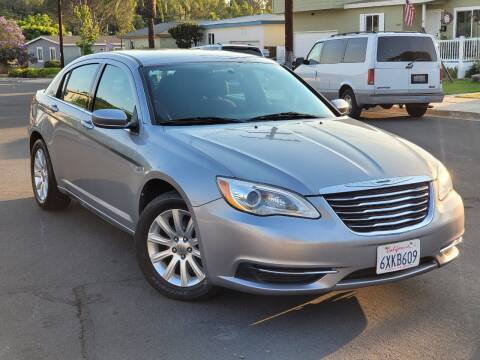 2013 Chrysler 200 for sale at Gold Coast Motors in Lemon Grove CA