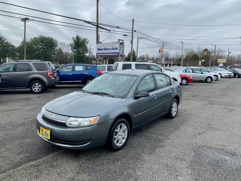 2004 Saturn Ion for sale at New Wave Auto of Vineland in Vineland NJ