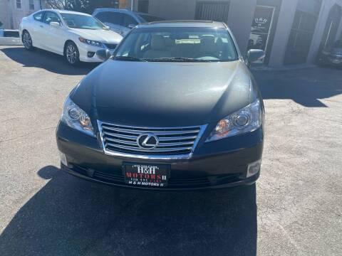 2012 Lexus ES 350 for sale at H & H Motors 2 LLC in Baltimore MD