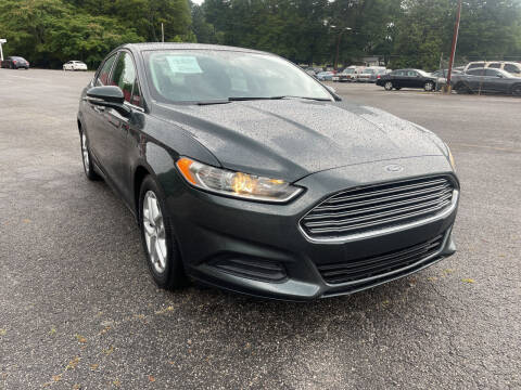2015 Ford Fusion for sale at Certified Motors LLC in Mableton GA