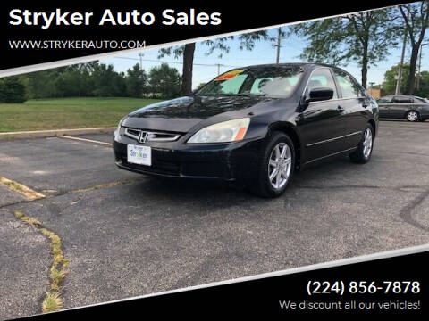 2004 Honda Accord for sale at Stryker Auto Sales in South Elgin IL