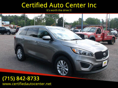 2017 Kia Sorento for sale at Certified Auto Center Inc in Wausau WI