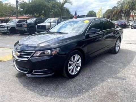 2018 Chevrolet Impala for sale at EZ Own Car Sales of Miami in Miami FL