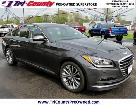 2017 Genesis G80 for sale at Tri-County Pre-Owned Superstore in Reynoldsburg OH