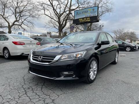 2013 Honda Accord for sale at All Star Auto Sales and Service LLC in Allentown PA