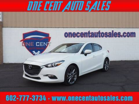 2018 Mazda MAZDA3 for sale at One Cent Auto Sales in Glendale AZ