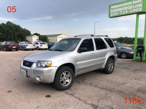 2005 Ford Escape for sale at Independent Auto in Belle Fourche SD