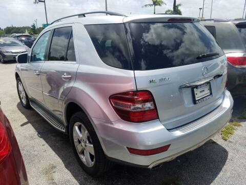 2010 Mercedes-Benz M-Class for sale at P S AUTO ENTERPRISES INC in Miramar FL