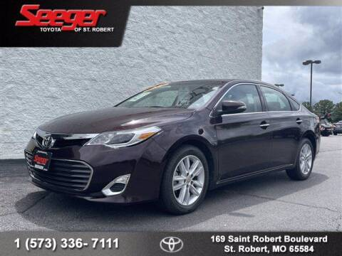 2015 Toyota Avalon for sale at SEEGER TOYOTA OF ST ROBERT in Saint Robert MO