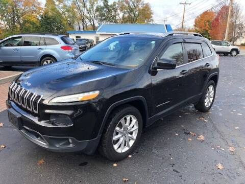 2016 Jeep Cherokee for sale at BATTENKILL MOTORS in Greenwich NY