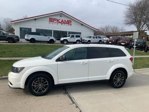 2018 Dodge Journey for sale at Efkamp Auto Sales LLC in Des Moines IA