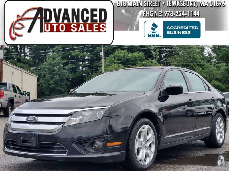 2011 Ford Fusion for sale at Advanced Auto Sales in Dracut MA