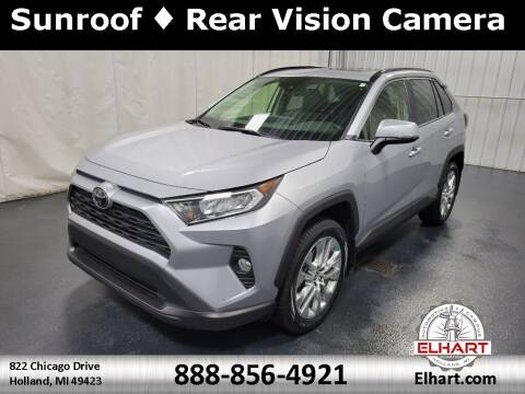 2019 Toyota RAV4 for sale at Elhart Automotive Campus in Holland MI