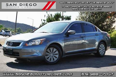 2008 Honda Accord for sale at San Diego Motor Cars LLC in San Diego CA
