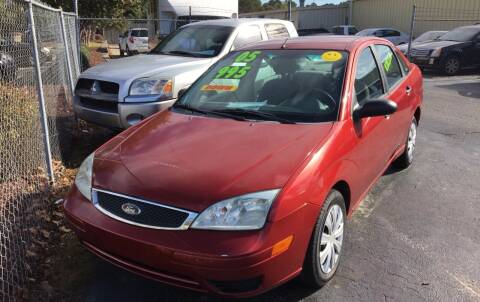 2005 Ford Focus for sale at Deckers Auto Sales Inc in Fayetteville NC