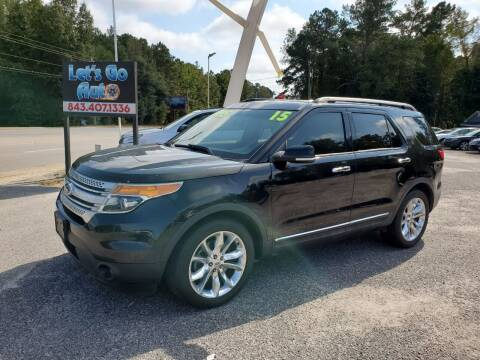 2015 Ford Explorer for sale at Let's Go Auto in Florence SC