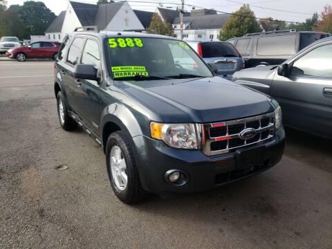 2008 Ford Escape for sale at TC Auto Repair and Sales Inc in Abington MA