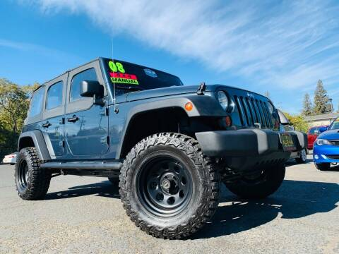 2008 Jeep Wrangler Unlimited for sale at Alpha AutoSports in Roseville CA