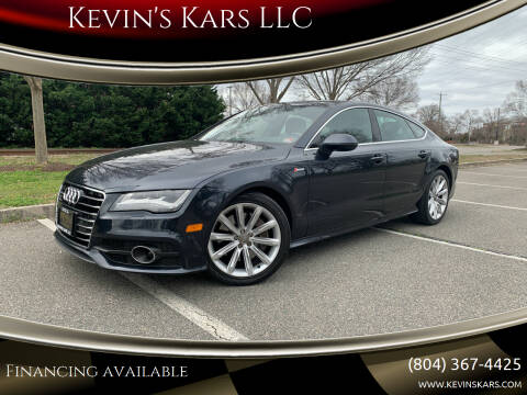2013 Audi A7 for sale at Kevin's Kars LLC in Richmond VA
