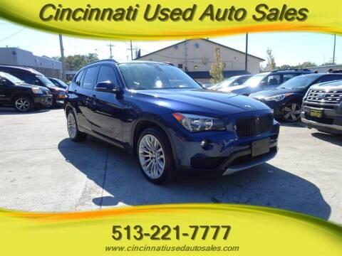2014 BMW X1 for sale at Cincinnati Used Auto Sales in Cincinnati OH