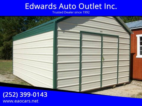 2020 Old Hickory Buildings 12x16 Metal barn for sale at Edwards Auto Outlet Inc. in Wilson NC